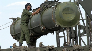 S-300 Launch Canister? (photo: Izvestiya)