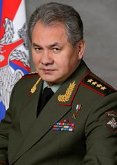 Defense Minister Shoygu