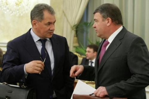 Shoygu and Serdyukov
