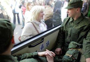 Bye Mom (photo: Mil.ru)