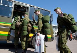 New Conscripts Depart for the Army (photo: Mil. ru)