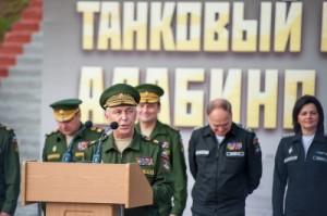 Antonov and Shevtsova in Uniform (photo: Rbc.ru)