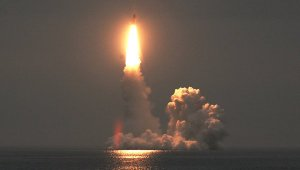 Failed Bulava Launch on 6 September (photo: Northern Fleet Press Service)