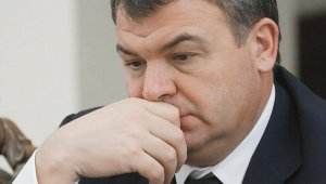 Serdyukov in a Contemplative Moment