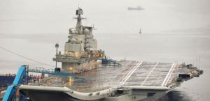 Chinese Carrier Liaoning, or ex-Soviet Kuznetsov-class Varyag (photo: Reuters)