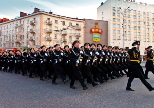 Parade in Murmansk (photo: Mil.ru)