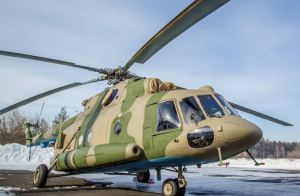 Mi-8MTPR-1 with Rychag EW System (photo: Sdelanounas.ru)