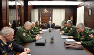Putin's Meeting with MD Commanders (photo: Kremlin.ru)