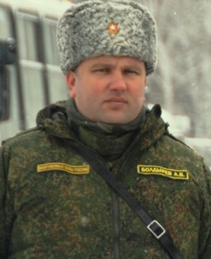 General-Major Andrey Vladimirovich Boldyrev
