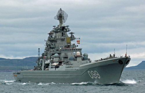 Kirov-class CGN Petr Velikiy