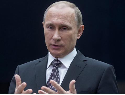 President Putin (photo RIA Novosti Sergey Guneyev)