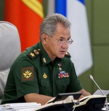 Defense Minister Shoygu