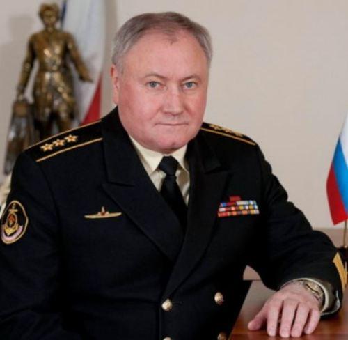 Russian Navy CINC Admiral Vladimir Korolev