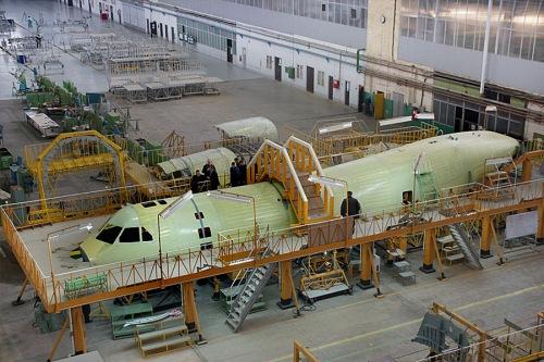 first-il-112v-fuselage-assembled-photo-www-ilyushin-org