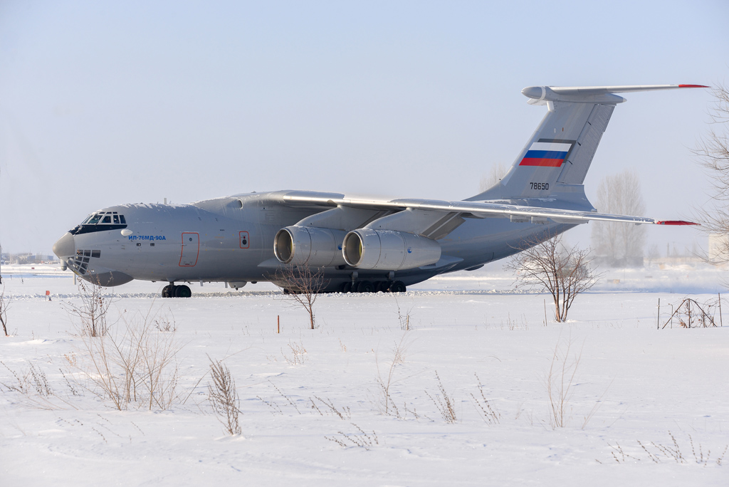 il-76md-90a-prototype-prepares-for-takeoff