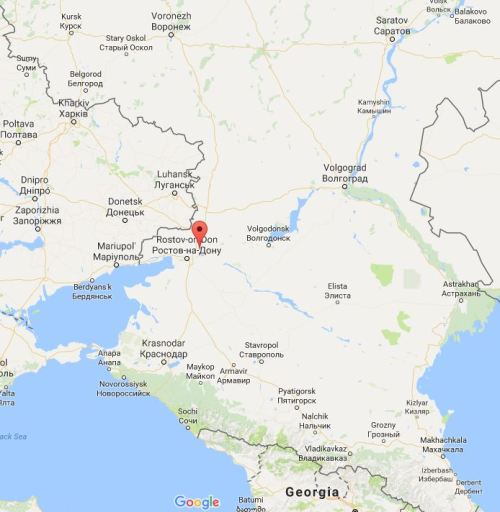 Location of new army in Novocherkassk