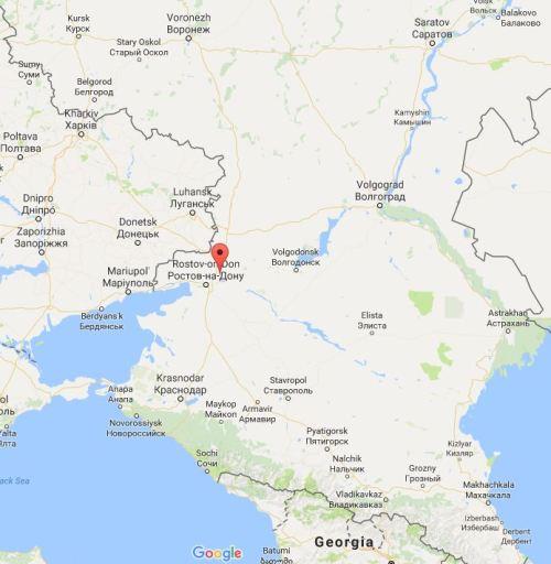 Location of new army in Novocherkassk