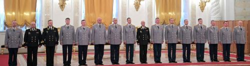 The full line-up (photo Kremlin.ru)