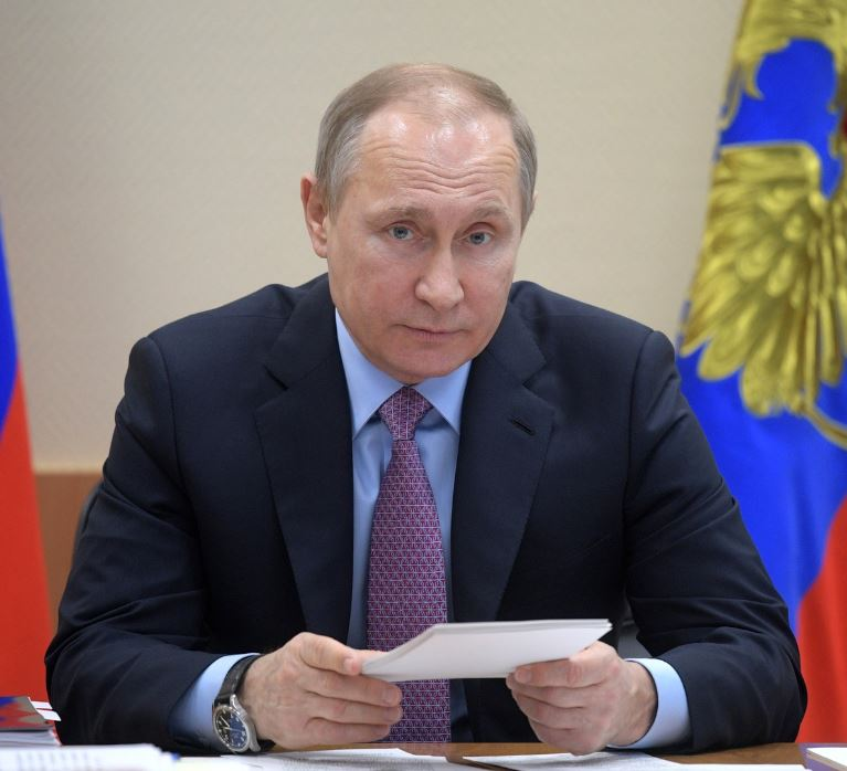 Putin chairing Military-Industrial Commission session in Rybinsk on April 25, 2017 (photo Kremlin.ru)