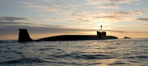 A Borey-class SSBN (photo Sevmash Press-Service)