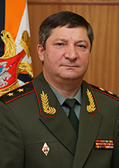 General-Colonel Arslanov wearing two stars