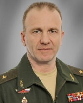 Vitaliy Razgonov is chief of the MOD's school for training troop recon officers