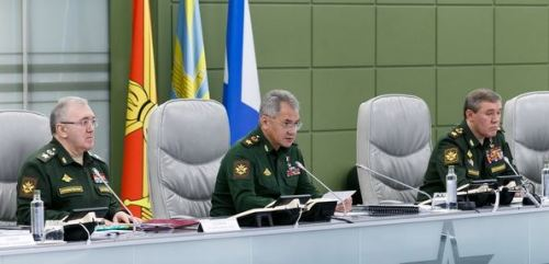 Shoygu in the NTsUO