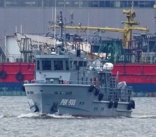 This roadstead rescue boat serves in the Caspian Flotilla