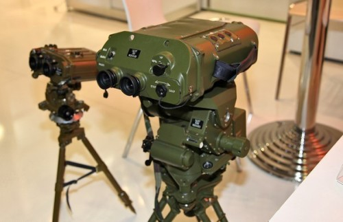 LPR-4 laser rangefinder made by the Kazan Optical-Mechanical Plant
