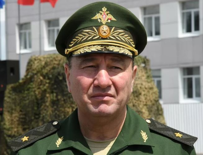 General-Lieutenant Zhidko wearing his previous rank