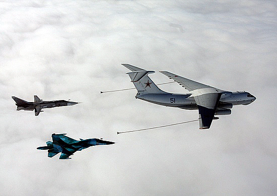 Russian aerial refueling