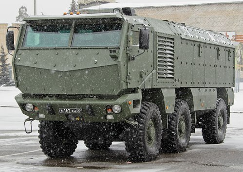 Tayfun-K armored vehicle