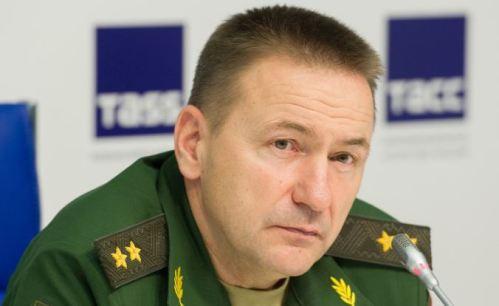yevgeniy ustinov wearing two stars