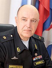 Lipilin wearing rear-admiral