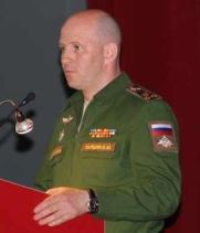 Parshin as a colonel