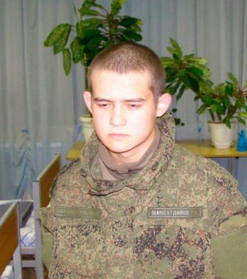 Shamsutdinov detained in his barracks