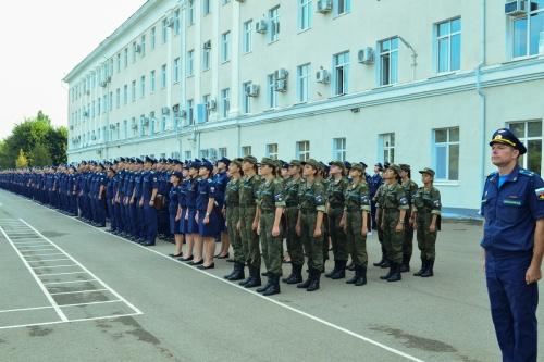 Cadet corps at KVVAUL