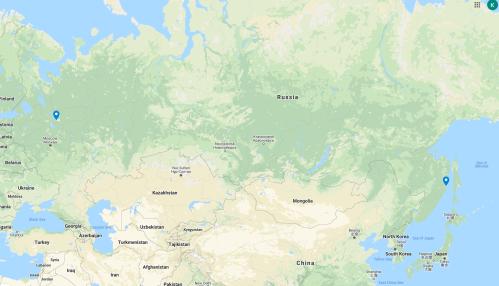 Tu-142 Bear F bases