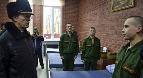 Troops living well in stylish Kaliningrad barracks